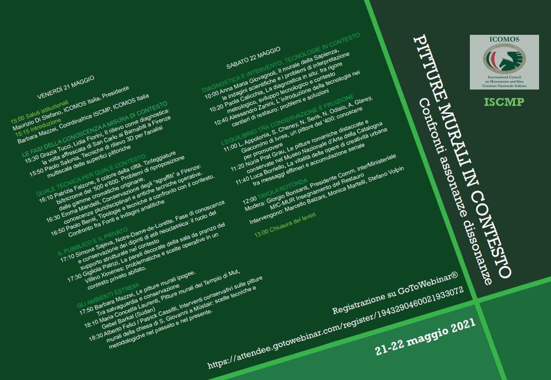 ICOMOS ISCMP 21/ 22-05-2021 WEBINAR